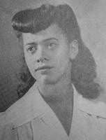 Quair 1944 yearbook Veronica Mary Henriksen senior photo.jpg