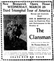 The Clansman Advertisement.png