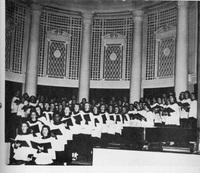 1947 Quair page 111 Evelyn Sermons singing in choir.jpg
