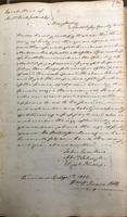 Manumission of Sarah by slaveholder Andrew Kirkpatrick