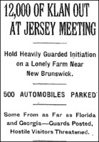12000 of Klan out at Jersey Meeting article New York Times Headline.png