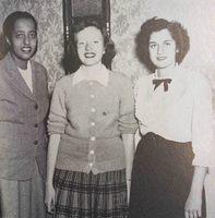Quair 1949 yearbook p. 23 Emma Andrews class secretary.jpg