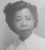 Quair 1949 yearbook p. 79 Evelyn Sermons senior photo.jpg