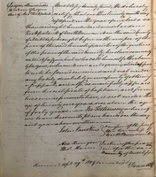 Manumission of Abraham Glasgow by slaveholder Andrew Kirkpatrick